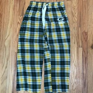 Other - Green Bay Packers Flannel Pants